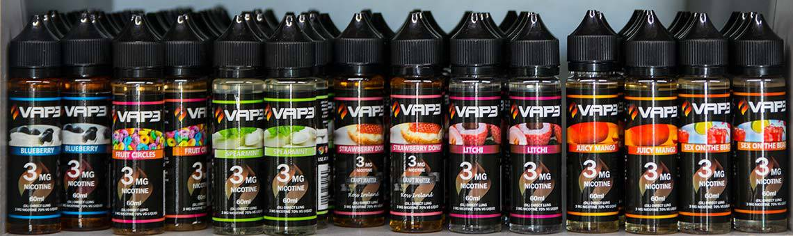 Vap3 Direct Lung MOD Liquids