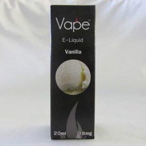 Vape E-Liquid - Vanilla