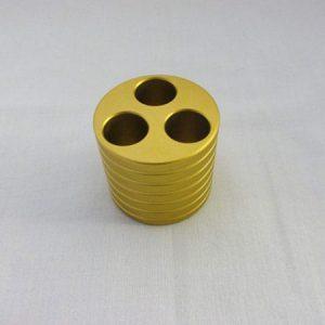 Barrel E-Cig Holder - Gold