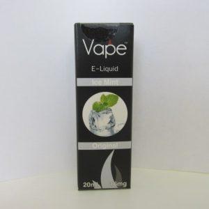 Vape E-Liquid : Mint 16mg