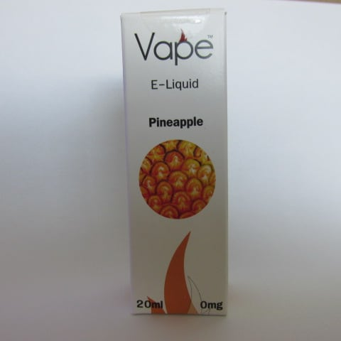 Vape E-Liquid: Pineapple
