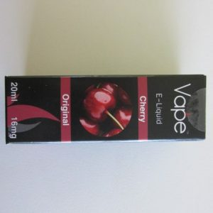 Vape E-Liquid : Cherry 16mg