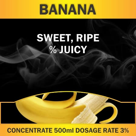 CONCENTRATE 500ML BANANA