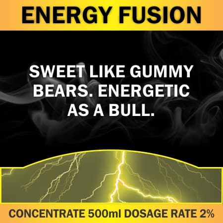CONCENTRATE 500ML ENERGY FUSION