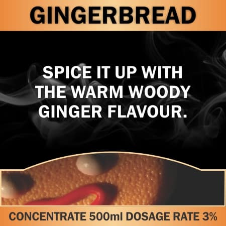 CONCENTRATE 500ML GINGERBREAD