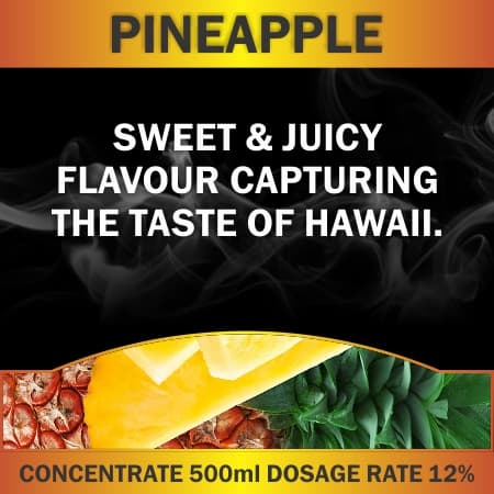 CONCENTRATE 500ML PINEAPPLE