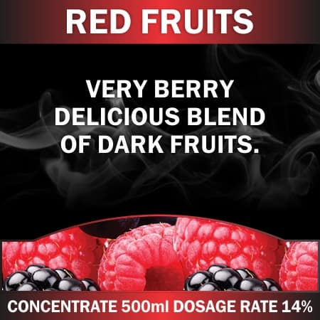 CONCENTRATE 500ML RED FRUITS