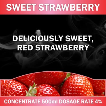 CONCENTRATE 500ML SWEET STRAWBERRY