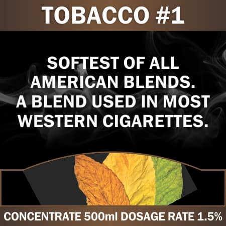 CONCENTRATE 500ML TOBACCO #1