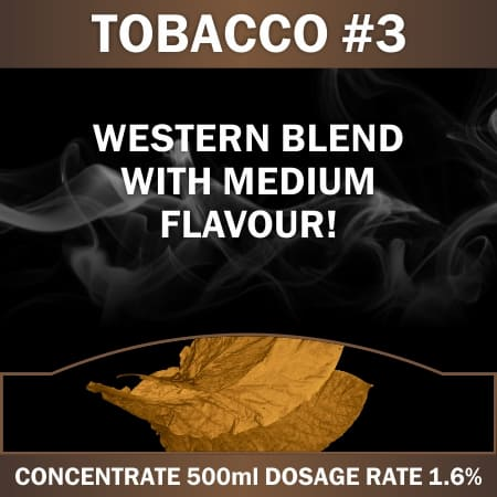 CONCENTRATE 500ML TOBACCO #3