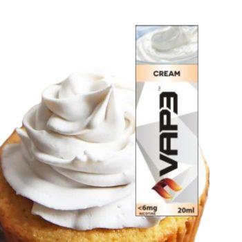 E-liquid 6mg Cream Vap3 30ml