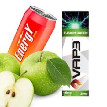 E-liquid 6mg Fusion Green Vap3 30ml