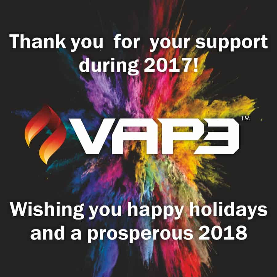 Vape Africa Vap3 2018 Thank You for the Support