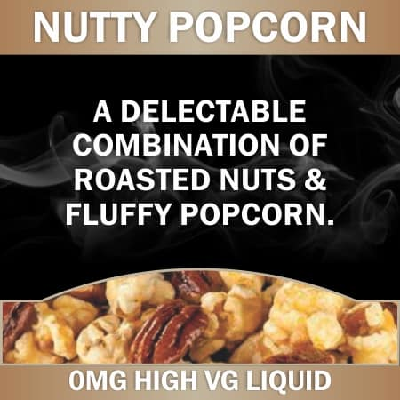 Nutty popcorn 0mg 60ml