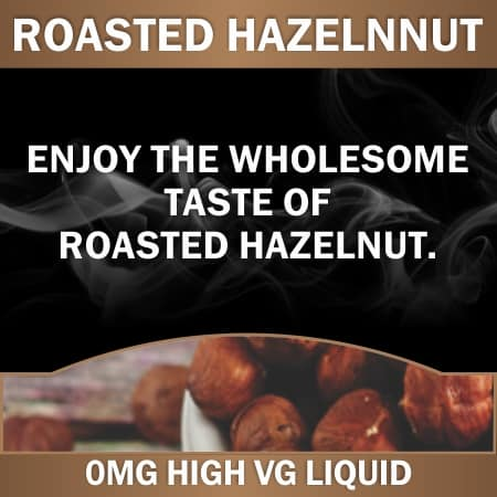roasted hazelnut 0mg 60ml
