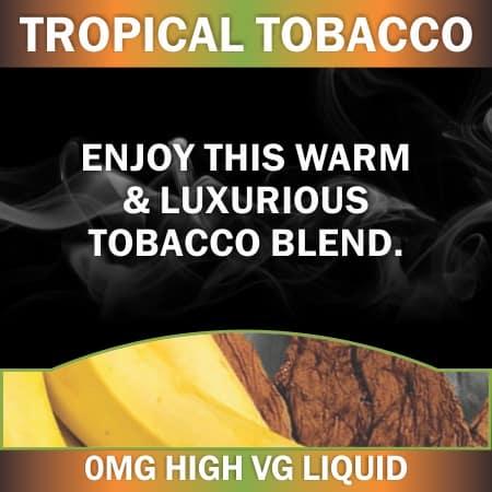 tropical tobacco 0mg 60ml