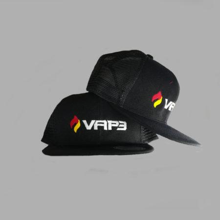 VAP3 snapback mesh cap