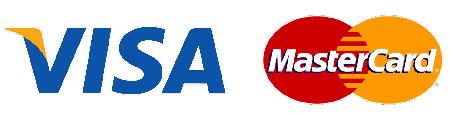 Visa and Master Card Logos