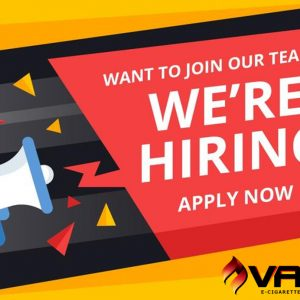 Vape Africa is hiring!