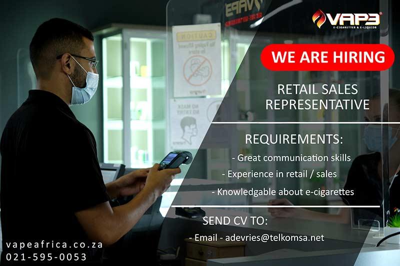 Job Posting: Retail Sales position