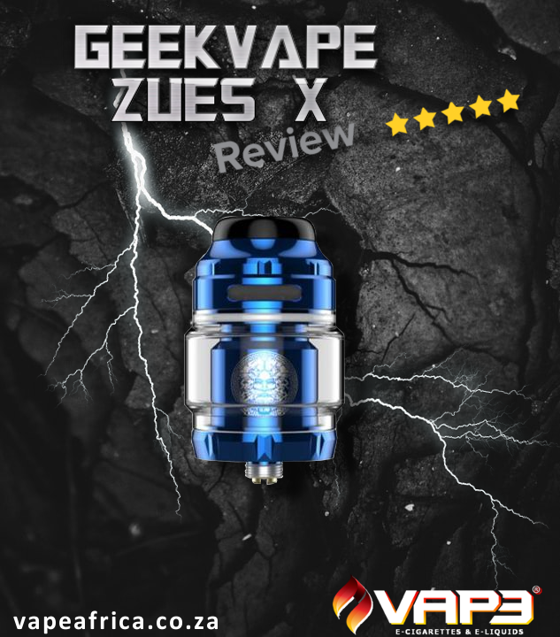 Geekvape Zues X RTA Tank Review